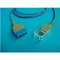 GE SpO2 extension cable
