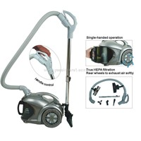 1800W Cyclonic Vacuum Cleaner with Handle Control