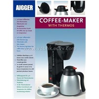 Coffee Maker w/ thermos