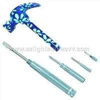 5pcs/set  Decrative Hammer With Screwdriver