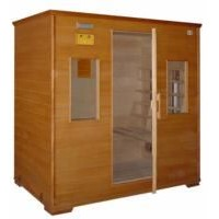 infrared sauna cabin for 4 persons