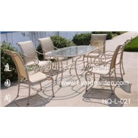 cast aluminum furniture