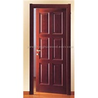 composite solid wooden door