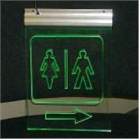 LED Edge Lit Panel-Toilet