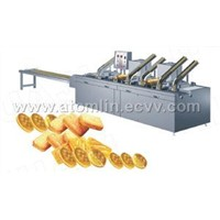 automatic continuous sandwiching machine