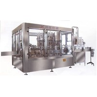 rinsing,filling, capping line