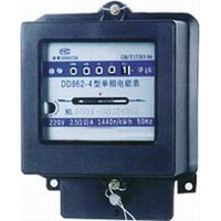DD862 Single-Phase Watt-Hour Meter, DD862 Meter