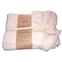 Nefertiti Egyptian cotton towels