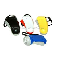 Hand Pressure Flashlight