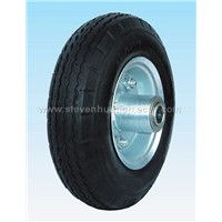 we can produce many kinds fo wheel barrow tyres