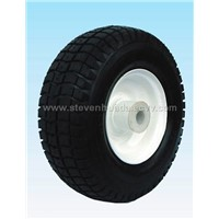 we can produce many kind of wheel barrow tyres