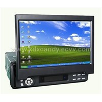 Fully-motorized In-dash TFT-LCD Monitor with TV a