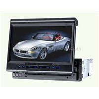 7inch Fully-motorized in-dash TFT monitor/DVD