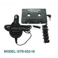 Cd/mp3/md Cassette Adaptor & Car Converter