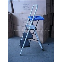 ladder with platform