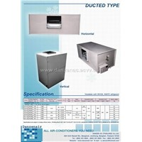 Ducttype Multi Position - Airconditioner