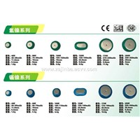 Button MH-Ni/Cd-Ni  Rechargeable Battery