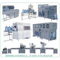 bottle filling and caping machine