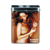 tin cigarette box