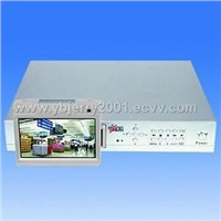 Stand-alone DVR with 7inch LCD screen