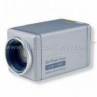 "All-in-one CCD camera with 1/4"" Super HAK Color CC"