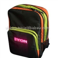 LED backpack