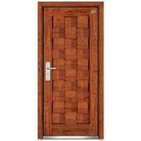 Steel-wood door