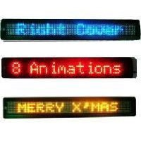 2.inch.7x80/Single Color led moving sign