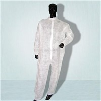 PP Coverall without hood & feetcover