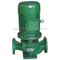 ISG SERIES SINGLE-STAGE IN-LINE CENTRIFUGAR PUMPS