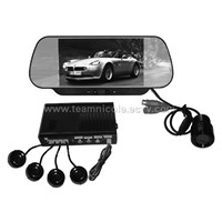 SM602S,6FT rearview mirror w/parking sensor and