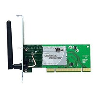 54M/108M PCI WIRELESS AP ADAPTER