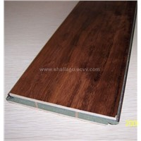 handscraped parquet with strength bar