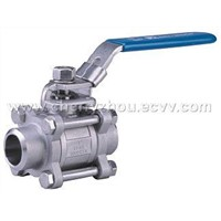 3pc Butt Weld Ball Valves