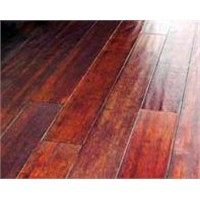 Antique Hand-Scraped Solid Bamboo Flooring