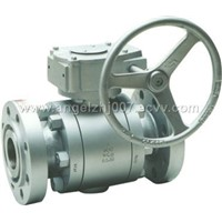 3PC Forged Steel Trunnion Ball Valve,RF &RTJ Flang