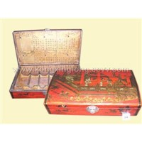 Antique wine box