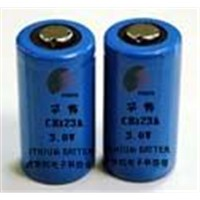 Lithium battery CR123A ,2/3 A size 3 Volts