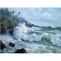 oil painting(sea scenery)