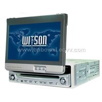 In dash Car DVD with TV/FM/AM/AMP+DivX