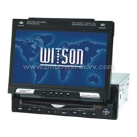 In dash DVD with TV/FM/AM/AMP