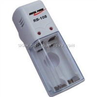 charger for 1-2pcs AA/AAA Ni-MH/Ni-Cd batteries
