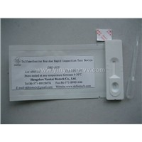 Sulfamethazine Test device