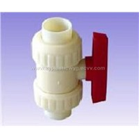 Abs Double Ball Valve