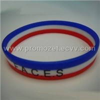 Silicone Bracelets with Your logo or company name