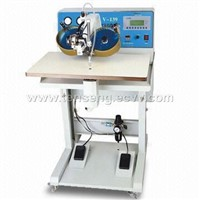 Ultrasonic hot-fix setting machine