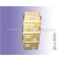 Craft Golden art box