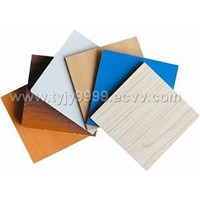 melamine  or hardwood faced MDF & HDF