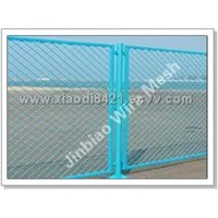 Expanded Metal Fences