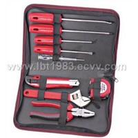 9PC.PORTABLE TOOL KIT ;SNIP RING PLIER EXTERNAL;